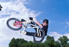 BMX Freestyle Sven Lehmann (Bild: Pierre Mandt)