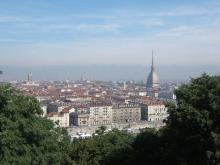Blick auf Turin vom Monte dei Cappuccini (Foto: moi-même via Wikimedia Commons)