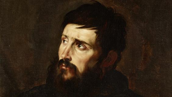 Jusepe de Ribera, Brustbild eines Mannes, um 1613, Öl auf Leinwand, Gemäldegalerie, Staatliche Museen zu Berlin, Foto: Christoph Schmidt