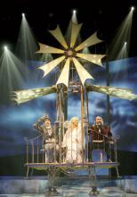 """Das Musical """"Vom Geist der Weihnacht"""" gastiert vom 23. November bis zum 30. Dezember im Musical Dome. (Foto: BB Promotion)"""