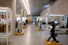Groß und geräumig: Den inneren Teil der Ausstellung können Besucher auf die eigene Faust erkunden. (Foto: koelner-wein-depot.de)