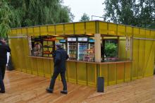 Der Kiosk wird jeden Abend bis 3 Uhr geöffnet sein. (Foto: Fabian Radix)