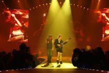 Brian Johnson (li.) und Angus Young: Das Herz und die Seele von AC/DC. (Foto: ddp)