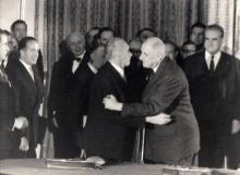 Konrad Adenauer, Charles de Gaulle
