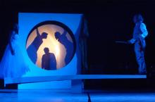 """""""Ombres d'espoir – Schatten der Hoffnung"""" – eine Koproduktion des Theaters im Bauturm mit der Compagnie Falinga aus Burkina Faso. © Gerhard Haag"""