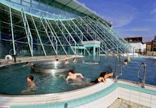 Sauna- und Badelandschaft im Agrippabad