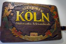Köln-Alfajores in Argentinien Mit einer Holztafel wirbt eine Bäckerei in Villa General Belgrano. (Foto: Sebastian A. Reichert)