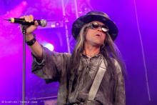 Carl McCoy: Der Sänger der Fields of the Nephilim. (Foto: Helmut Löwe)