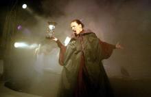Volle Stimmgewalt - Sängerin Anja Krips (Foto: Viola Niedenhoff)