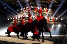 """Ein Fest für Pferdekenner: Apassionata """"Sehnsucht"""" zeigt hohe Reitkunst. (Foto: ddp)"""