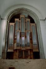 Orgel in St. Aposteln (Foto: Marie Neuhalfen)