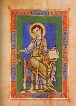 Archivalien online: Evangelistenbild, um 1140
