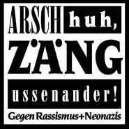 Logo von Arsch huh, Zäng ussenander www.arschhuh.de