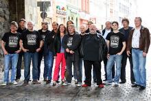 """Das """"who is who"""" der Kölner Musik kriegt nicht nur am 9. November 2012 den """"Arsch huh"""". (Foto: Jürgen Schön)"""
