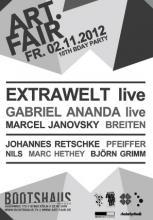 Party für Kunstinterssierte und Techno-Fans