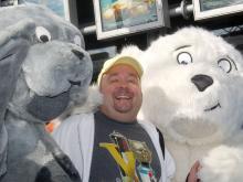 """In dem Zeichentrickfilm """"Der kleine Eisbär"""" übernahm Dirk Bach eine Sprechrolle. (Foto: dapd)"""