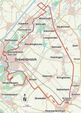 Streckenplan: (Karte: M. W. Zakowski)