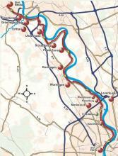 Streckenplan (Karte: Themendienst)