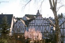 Freudenberg: Der Ort besteht ausschließlich aus Fachwerkhäusern. (Foto: Fritz Schnell)