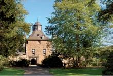 Wasserschloss Crottorf: Marion Gräfin Dönhoff starb hier. (Foto: Fritz Schnell)