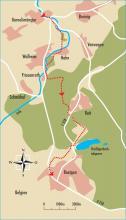 Streckenplan: (Karte: Jochen Rüffer)