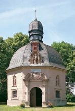 Die Antoniuskapelle: Kreuzwegkapelle von 1701 bei Dollendorf. (Foto: Eddi Meier)