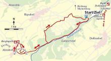 Streckenplan (Karte: Barbara Köhler)