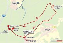 Streckenplan: Karte: Thomas Böhne