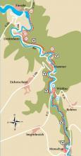 Streckenplan (Karte: Jochen Rüffer)