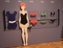 Auch Badegeschichte hat ihr Zuhause im Kölnischen Stadtmuseum – auch eine Geschichte der Frauenemanzipation. Foto: Jürgen Schön