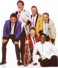 """Die britische Rockgruppe """"Showaddywaddy"""" sorgt für die musikalische Unterhaltung beim KölnBall (Foto: Pressefoto)"""