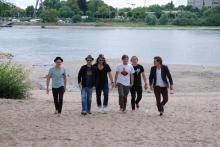 Vier Bands nehmen Kurs auf den Jugendpark. (Foto: Viola Niedenhoff)