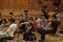 Im West-Eastern Divan Orchestra musizieren Israelis und Palästinenser gemeinsam.