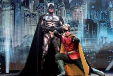 Batman und Robin: gemeinsam kämpfen sie gegen das Verbrechen. (Foto: Johan Depaepe)