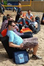 Gamescom Beach: Erholungsoase im Messetrubel