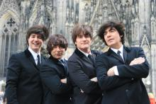 "Die ""Fab Four"" in Köln Paul, Ringo, John und George"