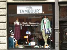 Ausgefallene Kleidung bei Mlle Tambour (Foto:Julia Schmitz)