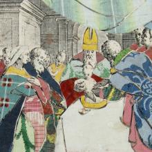 """Im grafischen Kabinett zeigt das Walraff seine """"verborgenen Schätze"""". (Foto: Wallraf Museum)"""
