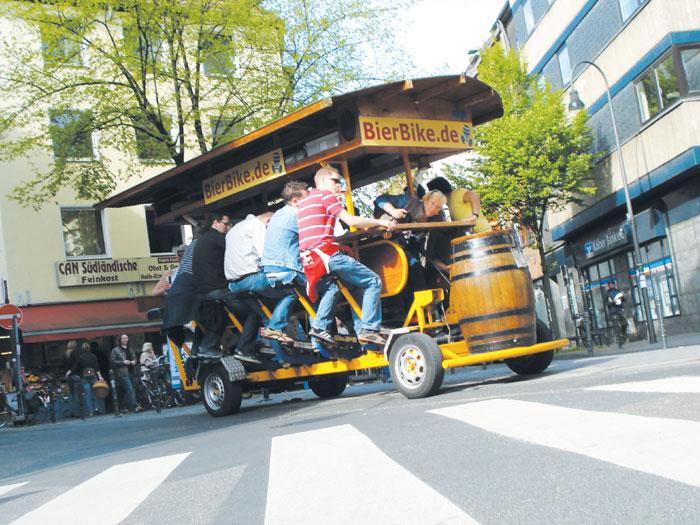 Bierbike Köln
