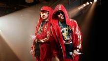 Sie träumen von der Rap-Karriere: Die Kumpels Otis (Sido) und Eddy (B-Tight). (Foto: Concorde Filmverleih)