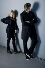 """Pia Lund (li.) und Phillip Boa legten zusammen mit dem Voodooclub ein gutes neues Studioalbum namens """"Loyalty"""" hin. (Foto: Ole Bredenfoerder)"""