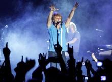Bon Jovi begeisterten ihre Fans am Donnerstagabend. (Foto:ddp)