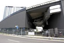Das unfertige World Conference Center Bonn (WCCB): Seit 2009 ist die Baustelle stillgelegt. (Archivfoto: dapd)