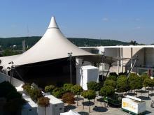 Der Museumsplatz Rock- und Popkonzerte sowie Comedyauftritte unter freiem Himmel (Foto: Helmut Löwe)