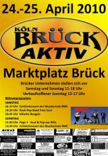 Information und Unterhaltung bei Brück Aktiv mit verkaufsoffenem Sonntag (Foto: red)