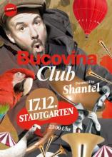 Der Flyer zur Party. (Quelle: www.bucovina.de)