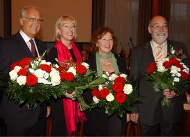 Kölns ehrenamtliche Bürgermeister v.l.: Bartsch, Scho-Antwerpes, Spizig, Wolf