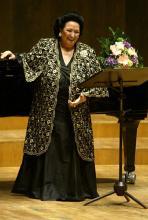 Montserrat Caballé: Die Grande Dame der Oper. (Foto: ddp)