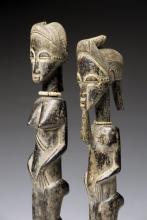 Figuren von der Elfenbeinküste (Foto:Galerist Vignold, Köln)