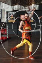 Akrobatik und Körperbeherschung par excellence: Die Lassonummer chinesischer Artisten. (Foto: Helmut Löwe)